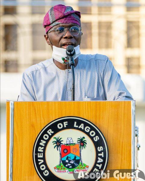 Sanwolu Lagos state Governor does not disappoint