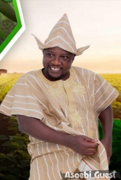 yoruba man in rocking his fila abeti aja