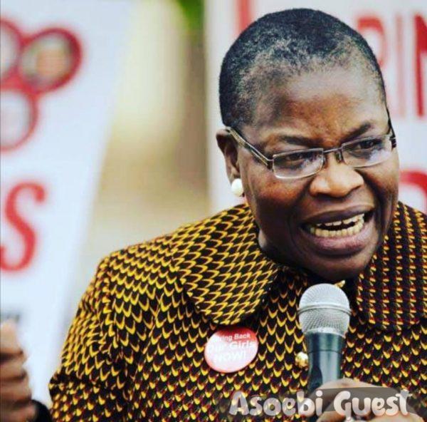Oby Ezekwesili doing her thing
